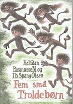Fem små trolde-børn