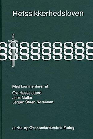 Bog, indbundet Retssikkerhedsloven med kommentarer af mfl, Møller J