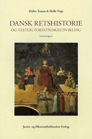 Bog, hæftet Dansk retshistorie og vestlig forfatningsudvikling af mfl, Tamm D