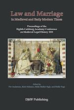 Law and mariage in medieval and early modern times