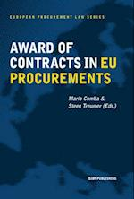 Award of contracts in EU procurements (European Procurement Law Series, nr. 5)