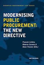Modernising public procurement (European Procurement Law Series, nr. 6)