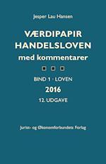Værdipapirhandelsloven med kommentarer af Jesper Lau Hansen