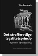 Det strafferetlige legalitetsprincip