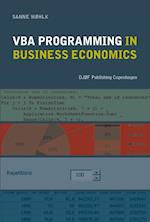 VBA Proframming in Business Economics