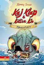 Kaj Klap & katten Klo #1: Kæmpefisken (Kaj Klap katten Klo, nr. 1)