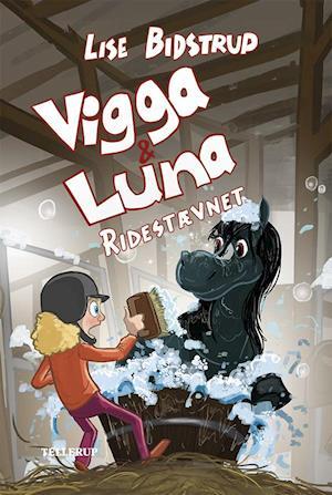 Bog indbundet Vigga & Luna - ridestævnet af Lise Bidstrup