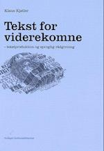 Tekst for viderekomne