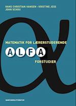 Matematik for lærerstuderende af Hans Chr. Hansen, John Schou, Kristine Jess