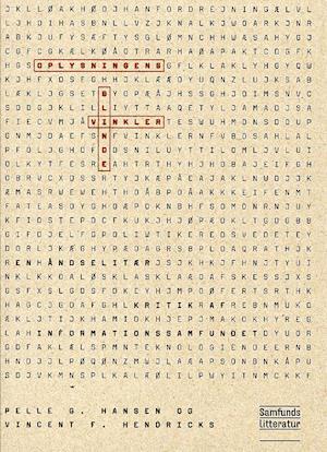 Bog, hæftet Oplysningens blinde vinkler af Pelle G. Hansen, Vincent F. Hendricks