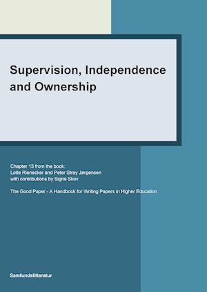 Supervision independence and ownership af Peter Stray Jørgensen Signe Skov Lotte Rienecker