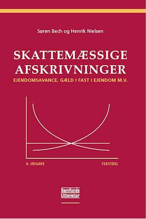 Bog, hæftet Skattemæssige afskrivninger- Tekstdel af Henrik Nielsen, Søren Bech