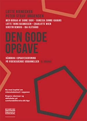 Bog, hæftet Den gode opgave af Peter Stray Jørgensen, Lotte Rienecker