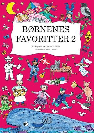 Bog hæftet Børnenes favoritter 2 af Linda Lehun