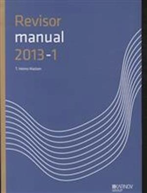 RevisorManual 2013/1