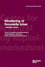 Håndtering af finansielle kriser (Kredit- og kapitalmarkedsretsserien, nr. 15)
