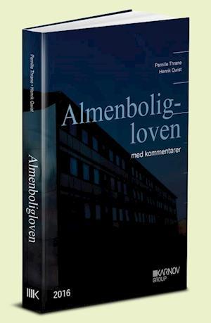 Bog, indbundet Almenboligloven med kommentarer af Henrik Qwist, Pernille Thrane