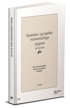 Selskabs- og kapitalmarkedsretlige opgaver.