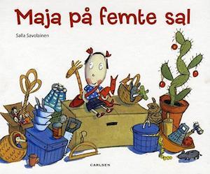 Bog, indbundet Maja på femte sal af Salla Savolainen