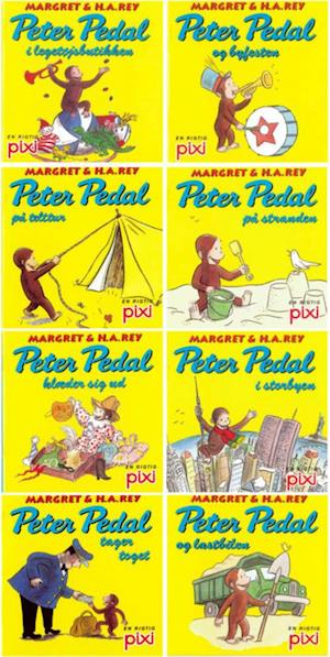 Peter Pedal tager toget