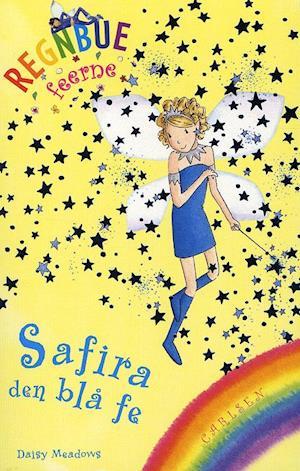 Bog, paperback Regnbuefeerne 5: Safira - den blå fe af Daisy Meadows