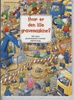 Hvor er den lille gravemaskine?