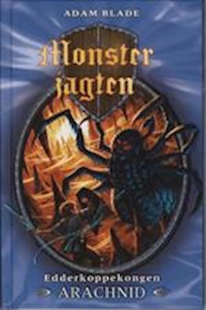 Bog indbundet Edderkoppekongen Arachnid af Adam Blade