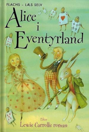 Bog, indbundet Alice i Eventyrland af Lesley Simms