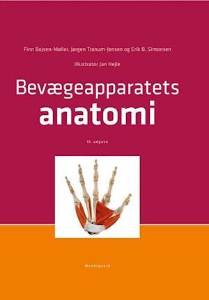 Bog indbundet Bevægeapparatets anatomi af Erik Bruun Simonsen Finn Bojsen-Møller Jan Hejle