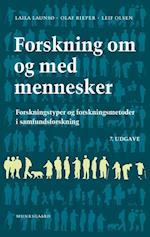 Forskning om og med mennesker af Laila Launsø, Leif Olsen, Olaf Rieper