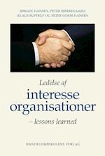 Ledelse af interesseorganisationer af Jørgen Hansen, Peter Bjerregaard, Klaus Bustrup
