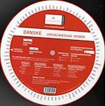 Dansk grammatik-hjul, Uregelmæssige verber