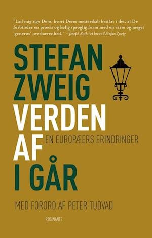 Bog, hæftet Verden af i går af Stefan Zweig