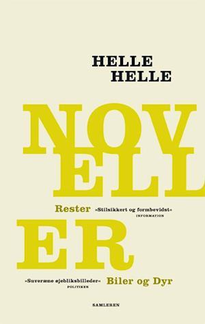 Bog, hardback Noveller af Helle Helle