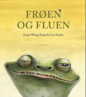 Bog indbundet Frøen og fluen. eller En elementær indføring i darwinisme af Jesper Wung-Sung