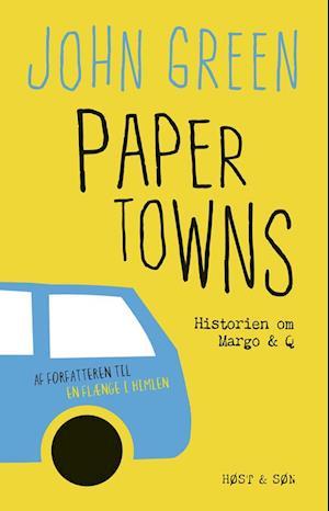 Bog, hæftet Paper towns af John Green