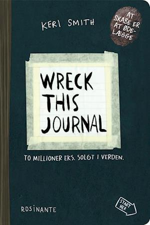 Bog, hæftet Wreck This Journal af Keri Smith