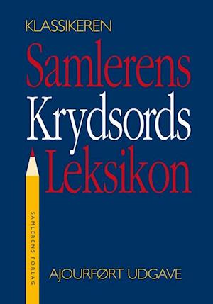 Bog indbundet Samlerens krydsords leksikon af Jørgen Lethan