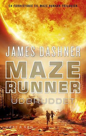 Bog hæftet Maze runner - udbruddet af James Dashner