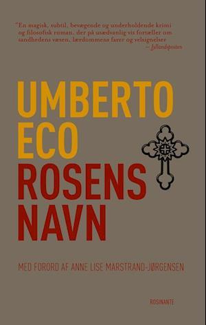 Bog, hæftet Rosens navn af Umberto Eco