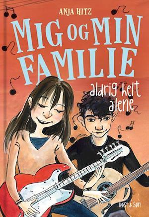 Bog indbundet Aldrig helt alene af Anja Hitz