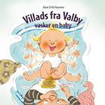 Villads fra Valby vasker en baby