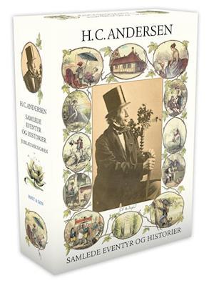 Bog, indbundet Samlede eventyr og historier af H.C. Andersen