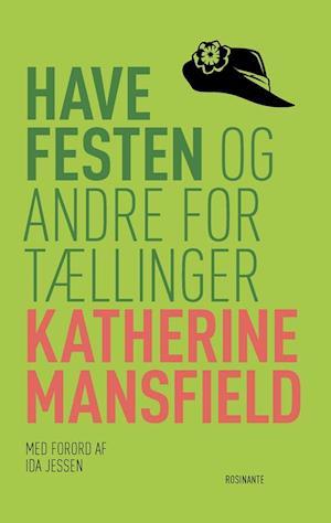 Bog hæftet Havefesten og andre fortællinger af Katherine Mansfield