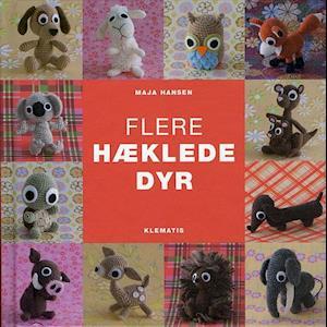 Bog, indbundet Flere hæklede dyr af Maja Hansen