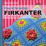 Fine & farverige firkanter - du selv kan hækle