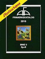 AFA Vesteuropa frimærkekatalog. Sp-Ø