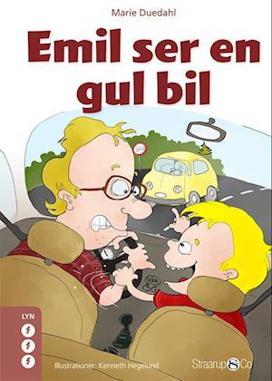 Emil ser en gul bil