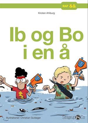 Ib og Bo i en å
