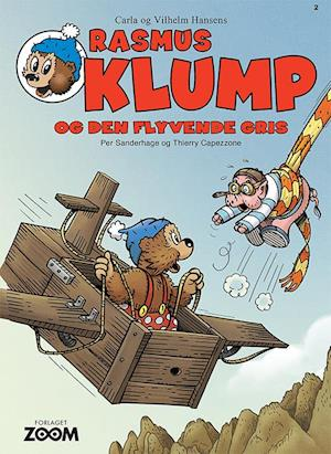 thierry capezzone Rasmus klump og den flyvende gris-thierry capezzone-bog på saxo.com
